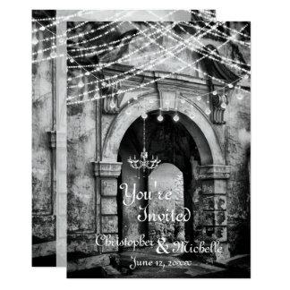 Romantische Licht-gotische Karte