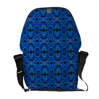 Romantische Liebe-blaue Glitter-Rosen-Bote-Tasche Kuriertasche