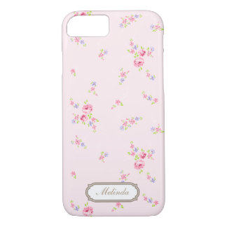 Romantische Rosen erblassen - rosa iPhone 7 Kasten iPhone 8/7 Hülle