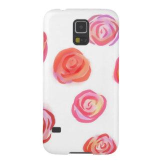 Romantische Rosen, Kasten Samsungs-Galaxie-S5 Galaxy S5 Hülle
