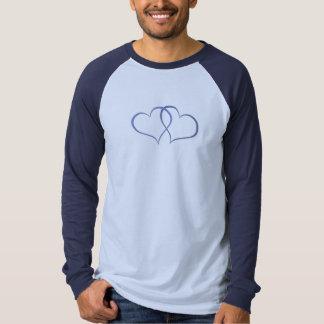 Romantische Schatz-blaues Blau T-Shirt