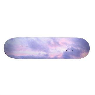 Romantischer Abends-Himmel Personalisierte Skatedecks