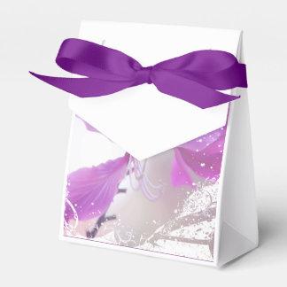 Romantischer Blumenzelt-Bevorzugungs-Kasten Geschenkschachteln
