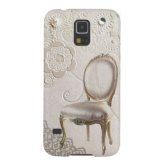 romantischer girly Leuchter Rokokostuhl Paris Samsung S5 Hülle