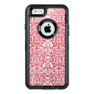Romantisches Rosa beunruhigter Damast OtterBox iPhone 6/6s Hülle