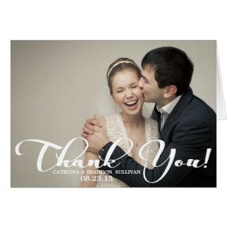 Hochzeitsdankeskarten von Zazzle