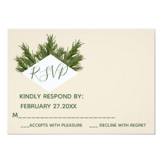 Romantisches UAWG Rosmarin eleganten Grün Karte