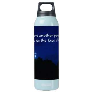 Romantisches Valentinstag-Zitat Isolierte Flasche