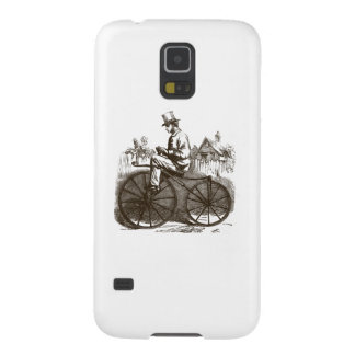 Romantisches Vintages retro braunes nobles altes Samsung Galaxy S5 Cover