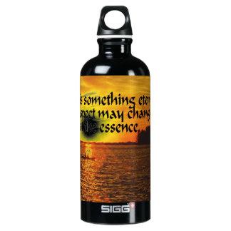 Romantisches Zitat Wasserflasche