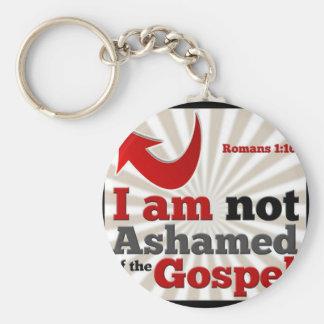 Römer-1:16 Schlüsselanhänger