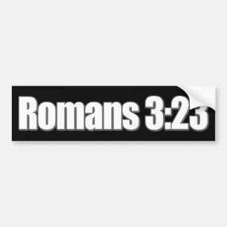 Römer-3:23 christlich autoaufkleber