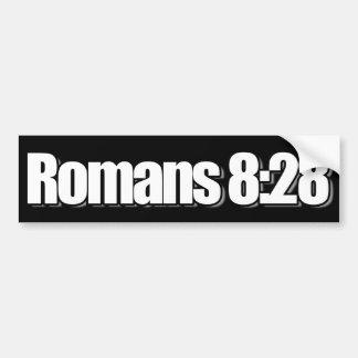 Römer-8:28 christlich autoaufkleber
