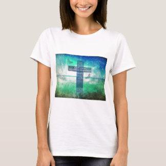 Römer-8:31 inspirierend Bibel-Vers T-Shirt