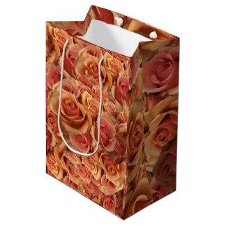 Römische Grenadier-Rosen Mittlere Geschenktüte