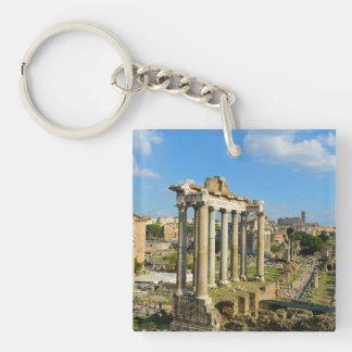 Römische Ruinen in Rom Italien Schlüsselanhänger