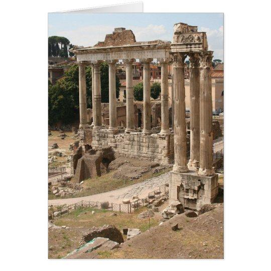 Römisches Forum Grußkarte
