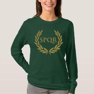 Römisches Senats-Siegel Roms SPQR T-Shirt