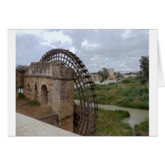 Römisches Wasser-Rad, Spanien Karte
