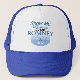 Romney MISSOURI Hut Truckerkappe