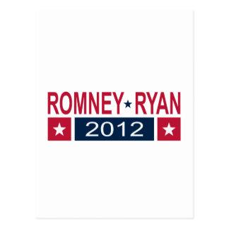 Romney Ryan 2012 Postkarte