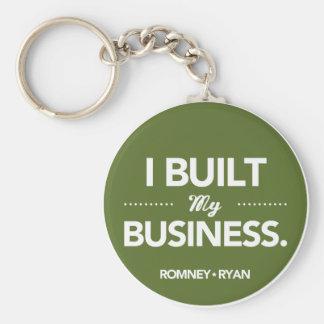 Romney Ryan baute ich mein rundes Geschäft auf Schlüsselanhänger