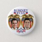 Romney Ryan Jugate Runder Button 5,1 Cm