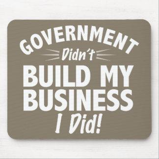 Romney Ryan - Regierung baute nicht mein Geschäft Mauspad