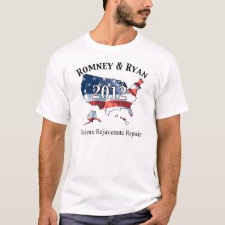 Romney Ryan Wiederherstellung Rejuvenate Reparatur T-Shirt