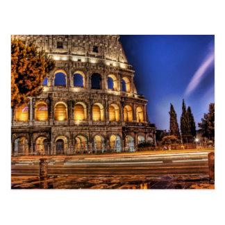 Roms Colosseum unter der Himmels-Postkarte Postkarte