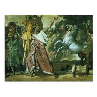Romulus, Eroberer von Acron, seinen Hintern zu t Postkarte