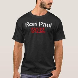 Ron Paul 2012 Umdrehung Art-Druck - dunkles Shirt