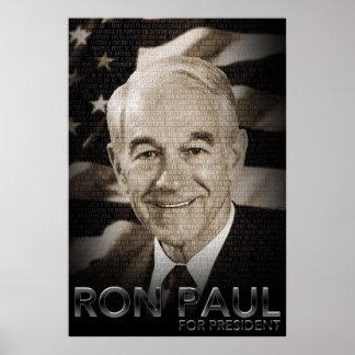 Ron Paul für Präsidenten Poster