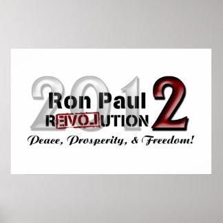 Ron Paul-Kampagnen-Plakat Poster