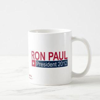 Ron Paul-Präsident 2012 Kaffeetasse