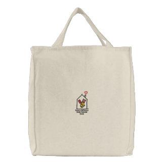 Ronald McDonald übergibt Taschen-Tasche Bestickte Tragetasche