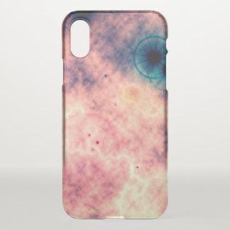 Röntgenstrahl Raum-verbreiteter rosa Nebelfleck iPhone X Hülle