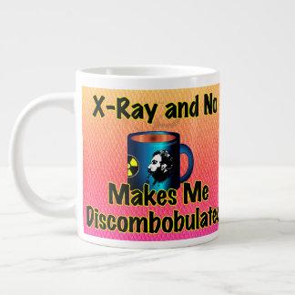 Röntgenstrahl und kein Kaffee machen mich verwirrt Jumbo-Tasse