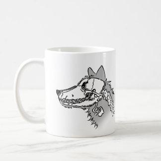 Röntgenstrahl-Wolf Tasse
