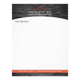 Roofing berufliche Geschäfts-Flyer-Orange 21,6 X 27,9 Cm Flyer