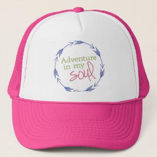 Rosa Abenteuer in meinem Soul Truckerkappe