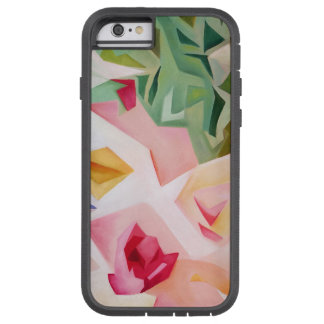Rosa abstrakter BlumeniPhone 6 Fall Tough Xtreme iPhone 6 Hülle