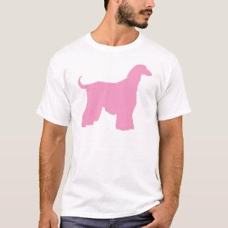 Rosa afghanischer Jagdhund T-Shirt