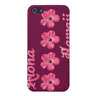 Rosa Aloha Hawaii iPhone 5 Hüllen