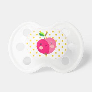 Rosa Apple 0-6 Monate BooginHead® Schnuller