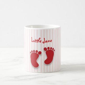 rosa Baby - Babypartybevorzugung Kaffeetasse