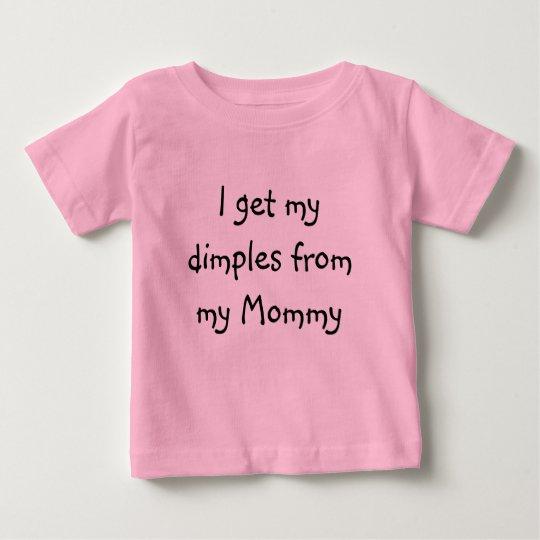Rosa Baby Jerseyt-stück Baby T-shirt