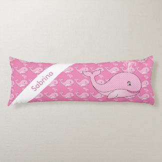 Rosa Baby-Wal | personifizieren Seitenschläferkissen