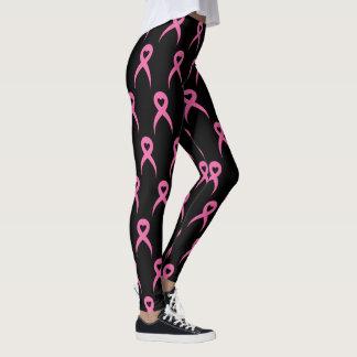 Rosa Bandgewohnheitsgamaschen Leggings