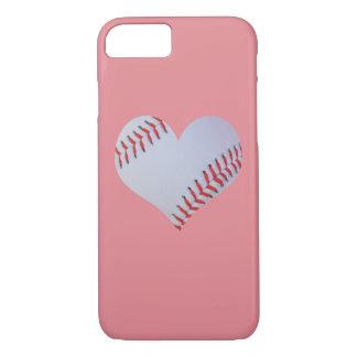 Rosa Baseball iPhone Fall iPhone 7 Hülle